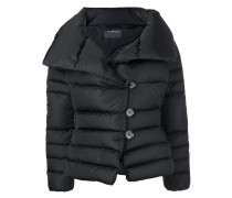 spread collar padded jacket