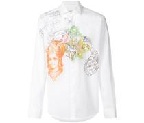 paisley design shirt