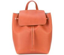 Mini Rucksack aus Leder