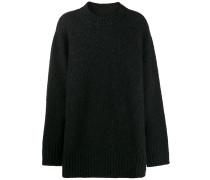 Gestrickter Oversized-Pullover