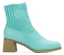 knitted ankle boots