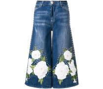 'Cyana del Ray Portofino' Cropped-Jeans