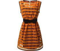 Makramee-Kleid mit Lochmuster
