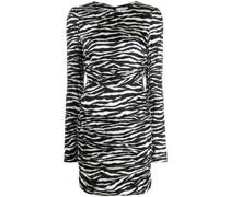 P.A.R.O.S.H. Kleid mit Zebra-Print