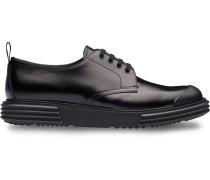 Derby-Schuhe mit klobiger Sohle
