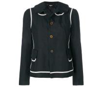 two-tone button jacket