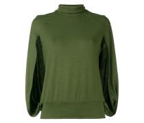 arm slits blouse