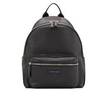 Bud croc-effect backpack