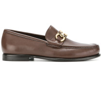 Gancini bit loafers