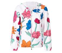 Jacke mit Blumenmuster