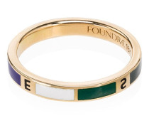 18kt 'Course Correction' Goldring