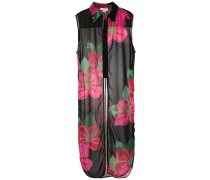 flower print cover-up