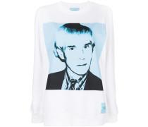 Sweatshirt mit Andy-Warhol-Print