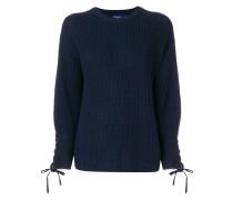 Pullover mit Schleifenmanschetten