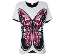 Oberteil mit Schmetterlingsmotiv