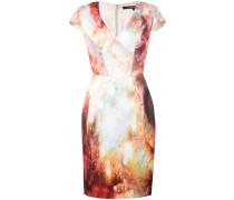 Schmales Kleid mit Print - Unavailable
