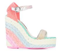 'Lucita 140' Sandalen mit Keilabsatz