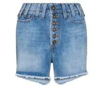 Shorts im Distressed-Look