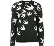 'Sparrow' Intarsien-Pullover