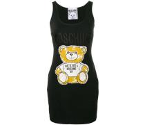 Trägerkleid mit Teddy