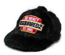 'No Mercy' Kunstpelz-Baseballkappe