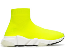 'Speed' Sneakers mit Neon-Effekt