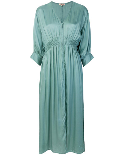 elasticated waist loose dress