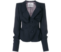 fitted asymmetric jacket
