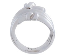Rhodinierter 'Venus' Ring