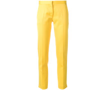 cropped design trousers