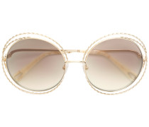 oversized wired sunglasses