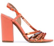 'Viola Peach' Sandalen