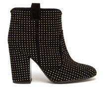 'Pete' studded suede ankle boots