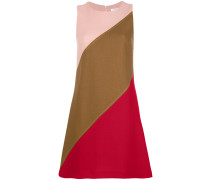 P.A.R.O.S.H. Kleid in Colour-Block-Optik