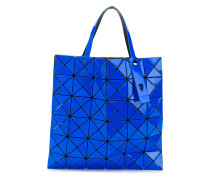 triangular applique tote bag