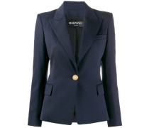 single-breasted tailored blazer