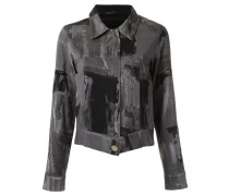 all-over print jacket