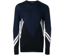 'Modernist' Intarsien-Pullover