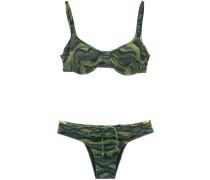 drawstring bikini set