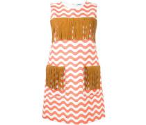 Kleid mit Fransen-Details