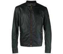 zipped lightweight jacket