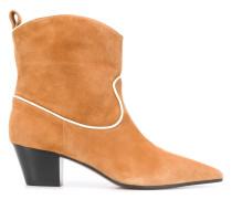 Cowboy-Stiefel mit Kontrastborten