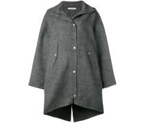 Mantel mit Druckknöpfen