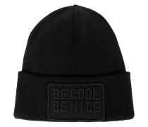 Be Cool Be Nice beanie hat