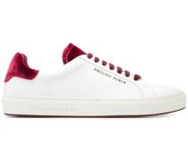 Sneakers mit Samtdetails