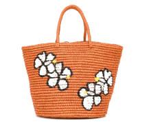 Shopper mit Blumen-Print