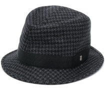 'Chris' Hut mit Hahnentrittmuster