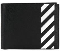 Gestreiftes Portemonnaie