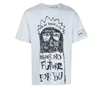 "T-Shirt mit ""No Future""-Print"