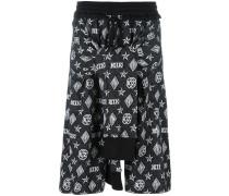 Shorts mit Knotendetail